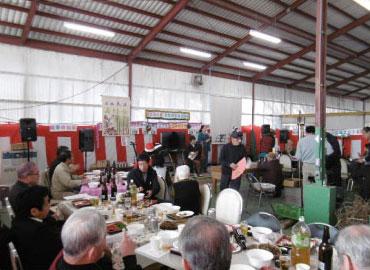 収穫祭:シシ鍋交流会